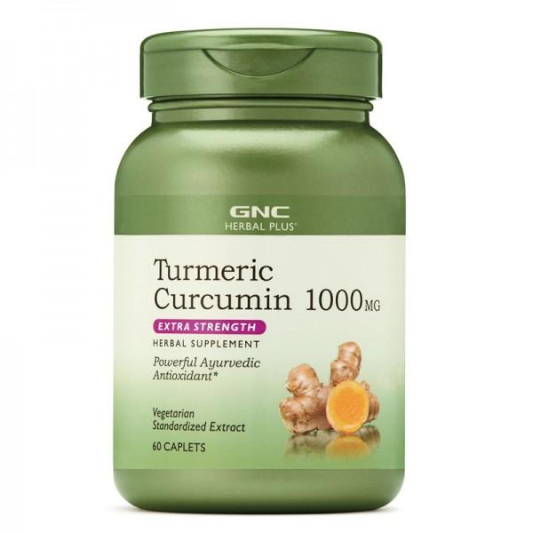 Turmeric Curcumin 1000mg (60 capsule), GNC Herbal Plus