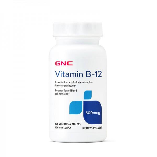 Vitamina B-12 500 mcg (100 capsule), GNC