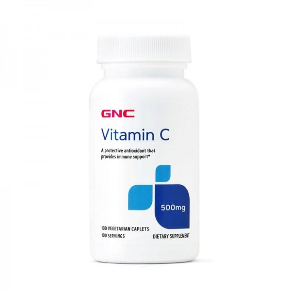 Vitamina C 500 mg (100 capsule), GNC