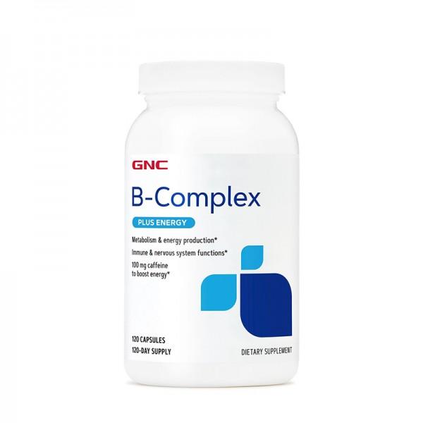 Vitamine B-Complex + Formula energizanta (120 capsule), GNC