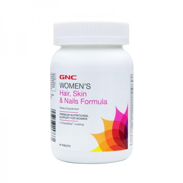 Women's formula pentru par, piele si unghii (90 tablete), GNC