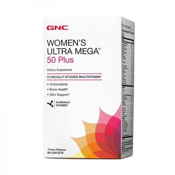 Women's Ultra Mega 50 Plus (60 tablete), GNC