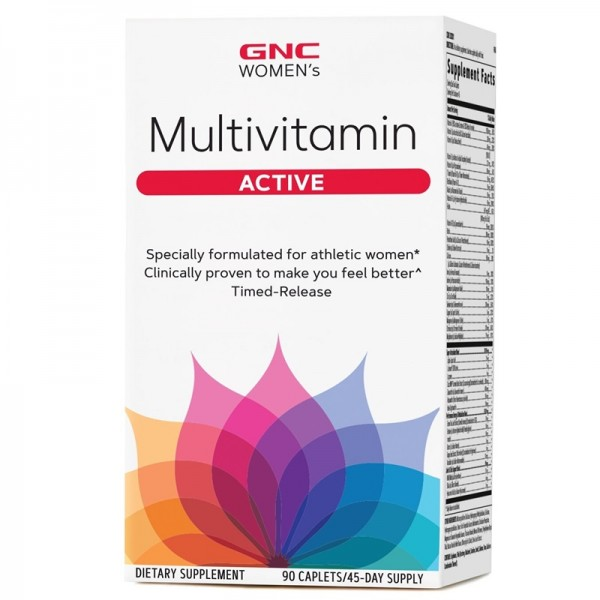 Women's Multivitamin Active (90 copsule), GNC