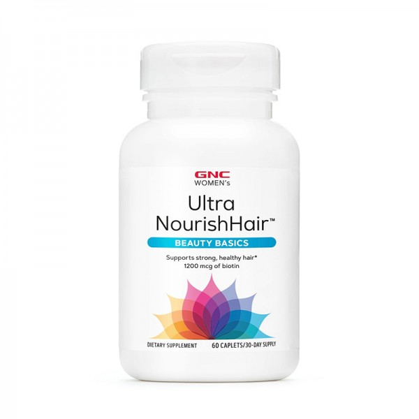 Women's Ultra Nourish Hair (60 capsule), GNC