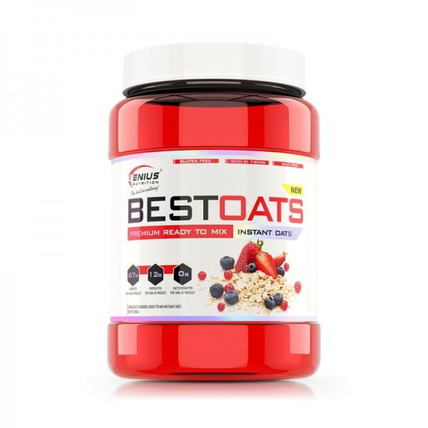 BestOats cu aroma de ciocolata (1000 grame), Genius Nutrition