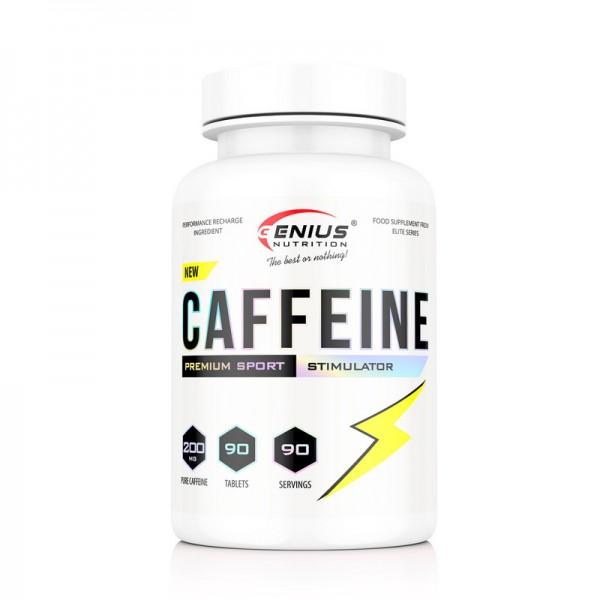 Caffeine (90 tablete), Genius Nutrition