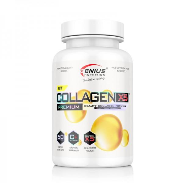 Collagen-X5 (60 capsule), Genius Nutrition