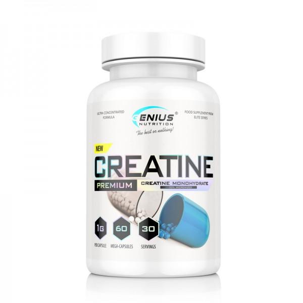 Creatine 60 mega (30 capsule), Genius Nutrition