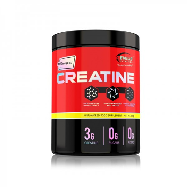 Creatine with creapure (300 grame), Genius Nutrition