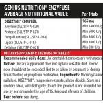 Enzyfuse (90 tablete), Genius Nutrition