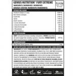 Fury Extreme cu aroma de Sour Apple (400 grame), Genius Nutrition