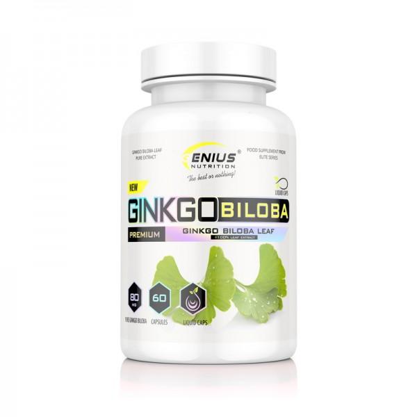 Ginkgo biloba (60 capsule), Genius Nutrition