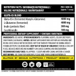 Gluta-X5 cu aroma de mar verde (405 grame), Genius Nutrition