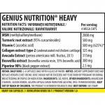 Heavy (180 capsule), Genius Nutrition
