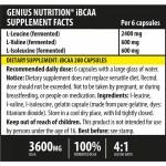iBCAA (200 capsule), Genius Nutrition