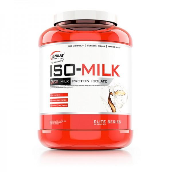 Iso-Milk cu aroma de ciocolata (2000 grame), Genius Nutrition