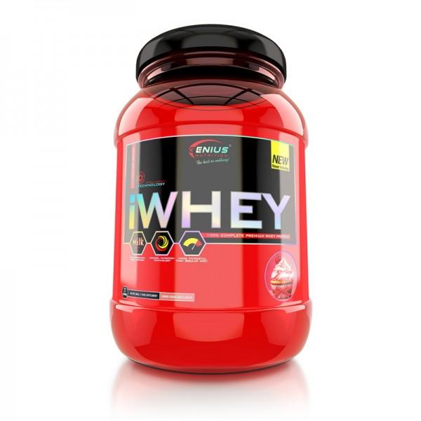 iWhey cu aroma de capsuni (900 grame), Genius Nutrition
