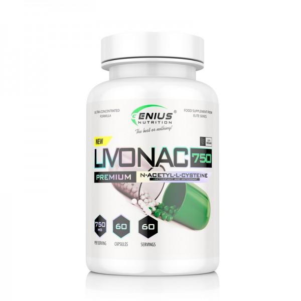 Livonac 750 (60 capsule), Genius Nutrition