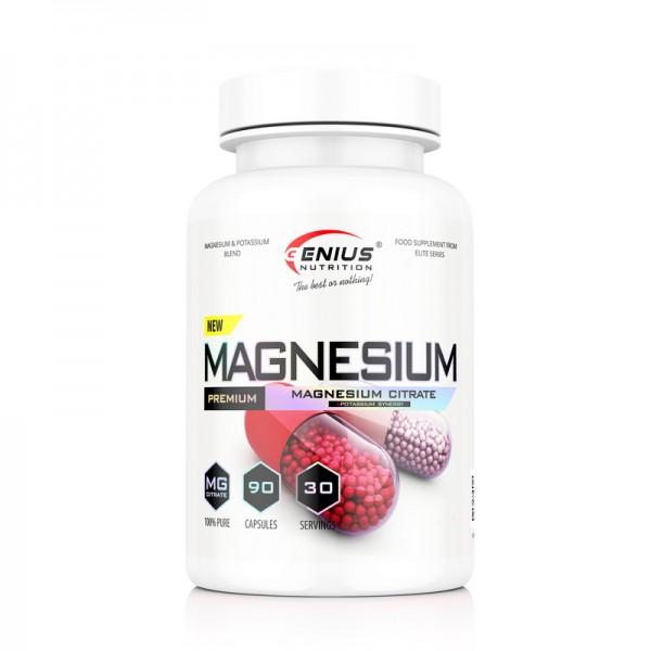 Magnesium (90 capsule), Genius Nutrition