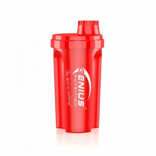 Shaker rosu 700 ml, Genius Nutrition