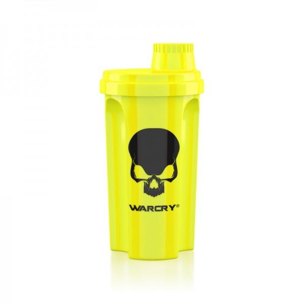 Shaker Warcry galben neon 700 ml, Genius Nutrition