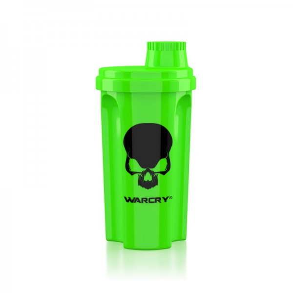 Shaker Warcry verde neon 700 ml, Genius Nutrition