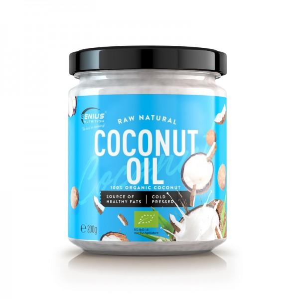 Ulei bio de cocos (200 grame), Genius Nutrition