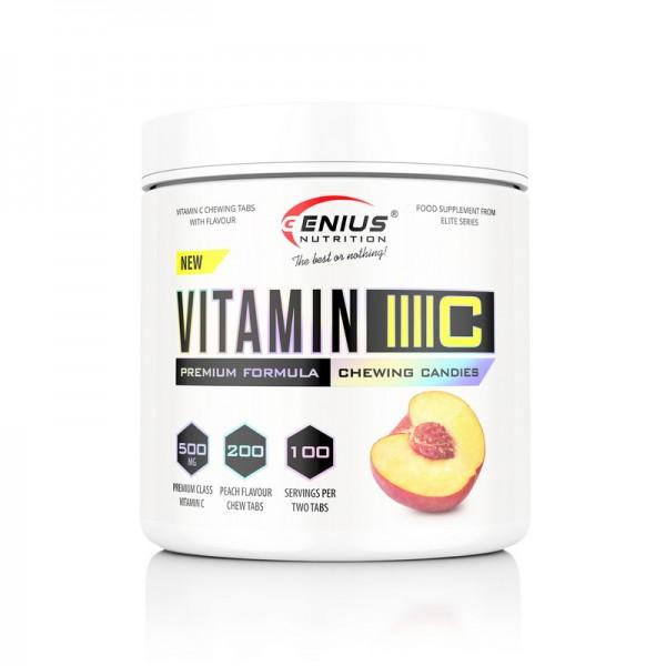 Vitamin C (200 tablete), Genius Nutrition