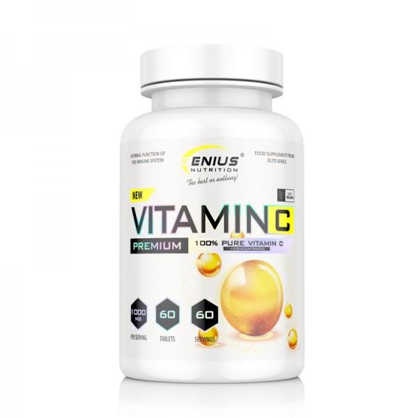 Vitamin C (60 capsule), Genius Nutrition