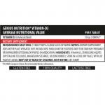 Vitamin D3 (90 tablete), Genius Nutrition