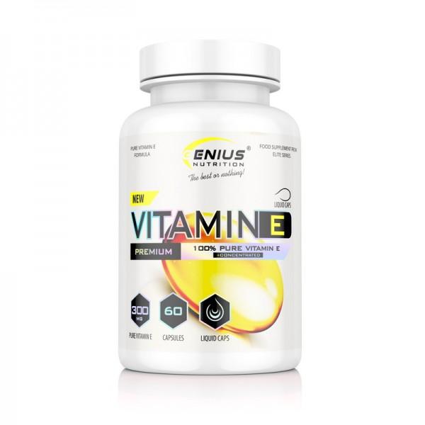 Vitamin E (60 capsule), Genius Nutrition