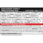 Vitamin-X5 (120 tablete), Genius Nutrition