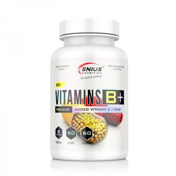 Vitamins B+ (60 capsule), Genius Nutrition