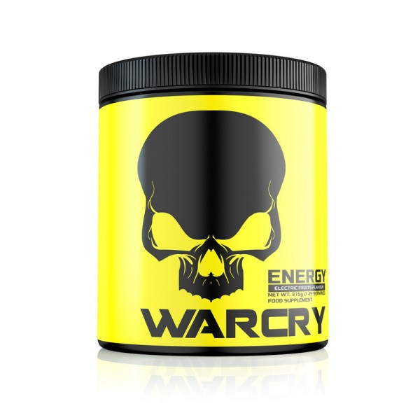 Warcry Energy cu aroma de Electric Fruits (315 grame), Genius Nutrition