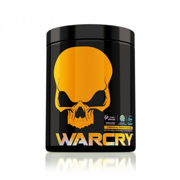 Warcry cu aroma de Tropical Twist (400 grame), Genius Nutrition
