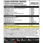 Whisper cu aroma de Cola (18 grame), Genius Nutrition
