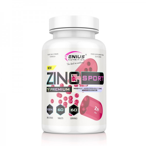 Zinc Sport (60 tablete), Genius Nutrition