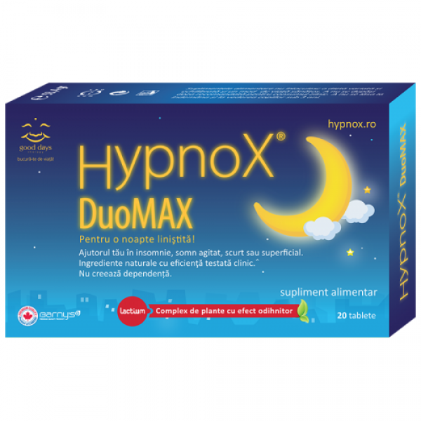 Hypnox DouMax (20 tablete), Good Days Therapy