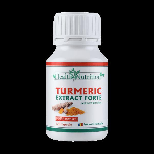 Turmeric Extract Forte (120 Capsule), Health Nutrition