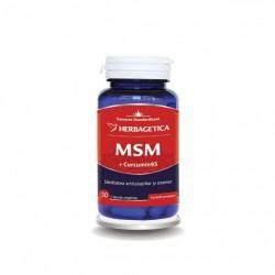 MSM + Curcumin 95 (30 capsule), Herbagetica