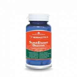Super Enzime Digestive (60 capsule), Herbagetica