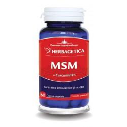 MSM + Curcumin 95 (60 capsule), Herbagetica