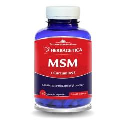 MSM + Curcumin 95 (120 capsule), Herbagetica