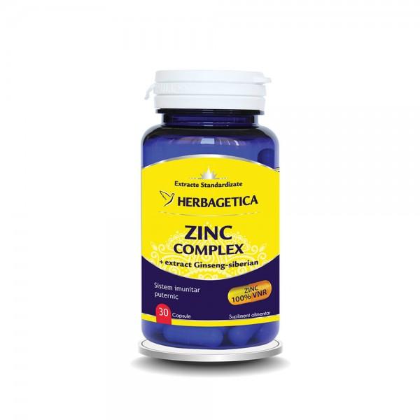 Zinc Complex (30 capsule), Herbagetica