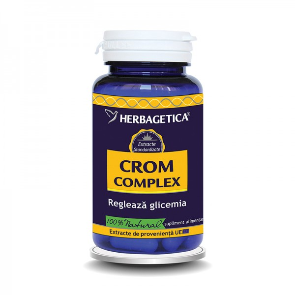 Crom Complex (60 capsule), Herbagetica