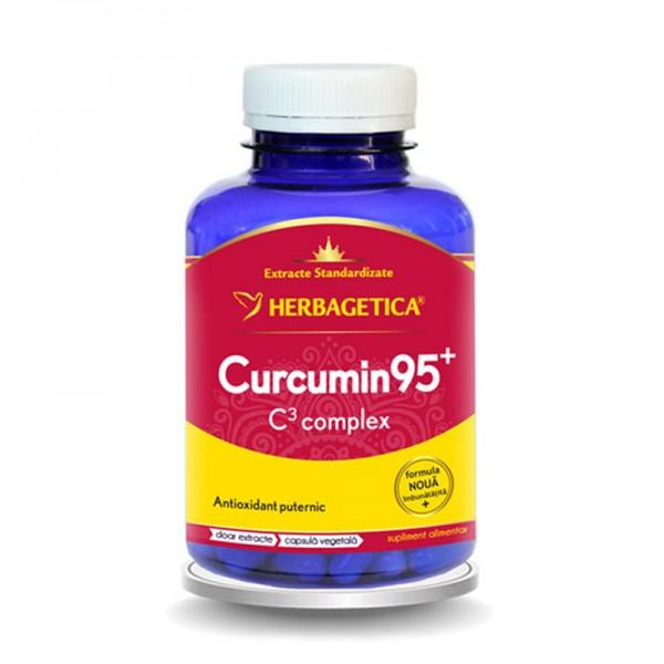Curcumin 95 C3 Complex (120 capsule), Herbagetica