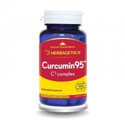 Curcumin 95 C3 Complex (60 capsule), Herbagetica