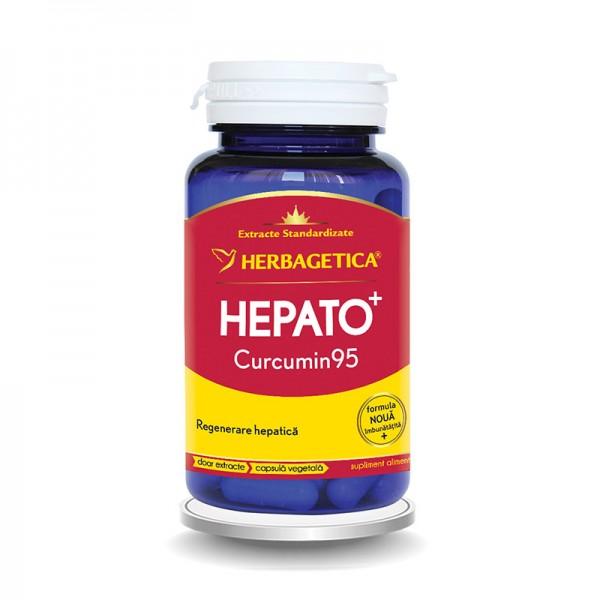 Hepato Curcumin 95 (30 capsule), Herbagetica