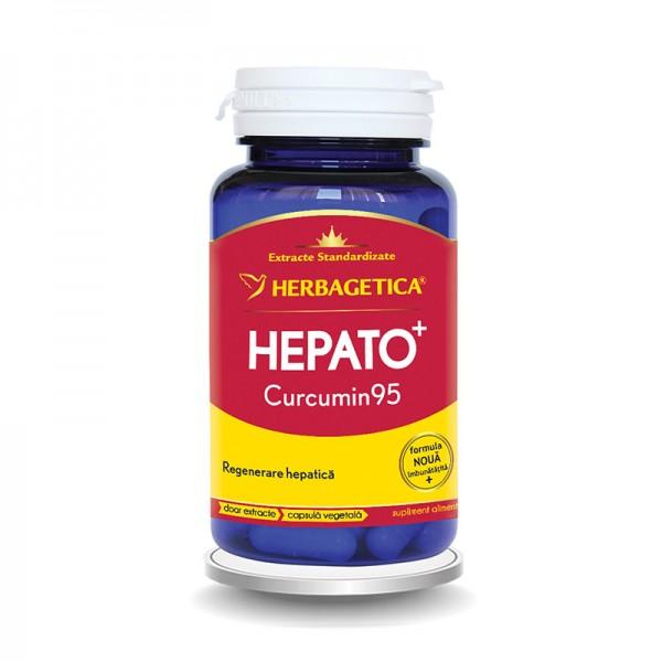 Hepato Curcumin 95 (60 capsule), Herbagetica