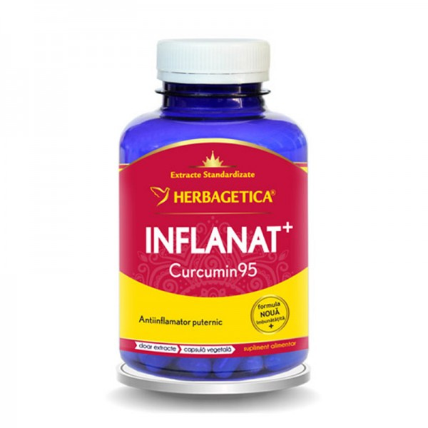 Inflanat Curcumin 95 (120 capsule), Herbagetica